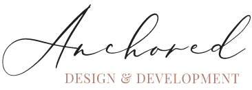 Anchored Design Homepage