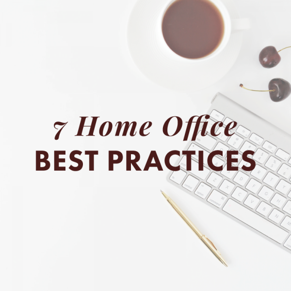 home office best practices