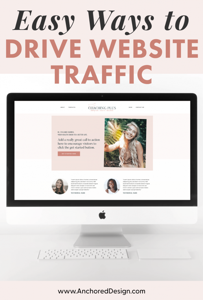 increase traffic to a website